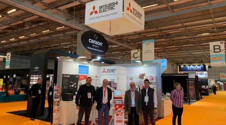 Mitsubishi Electric Photo Printing Solutions estuvo presente un año más en Salón de la Photo, París.